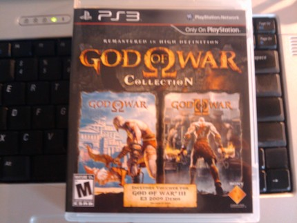 God of War Collection unpack