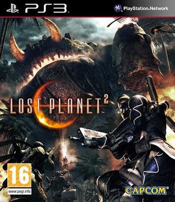 Европейская обложка Lost Planet 2