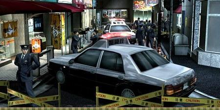 Yakuza 4 полиция