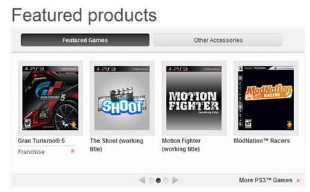Gran Turismo 5 и Split Second PlayStation Move