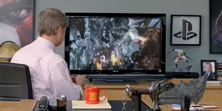 God of War III TV AD
