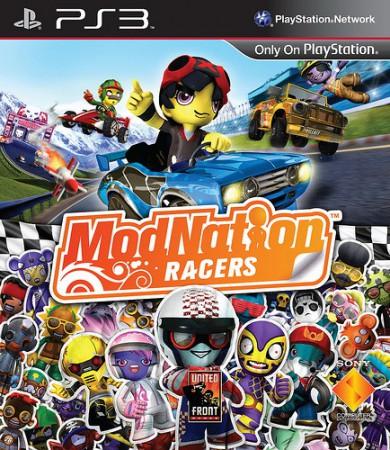 ModNation Racers EU cover