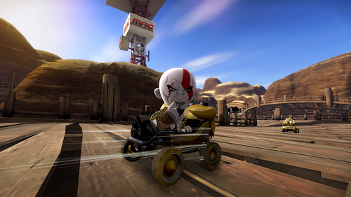 ModNation Racers Кратос