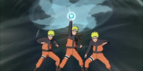 Онлайн в Naruto: Ultimate Ninja Storm 2