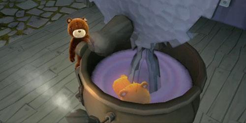 Naughty Bear убивает миксером