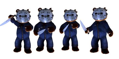 Костюм Джейсона в Naughty Bear