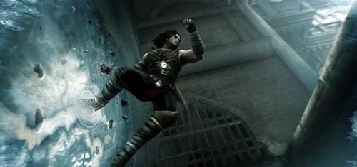 Prince of Persia: The Forgotten Sands геймплей видео с остановкой времени