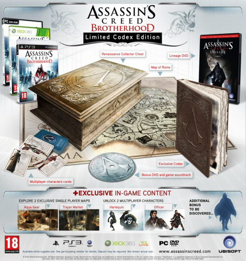 Assassins Creed Brotherhood – Limited Codex Edition