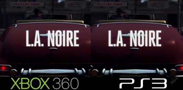 Сравнение графики L.A. Noire (PS3 vs. Xbox 360)