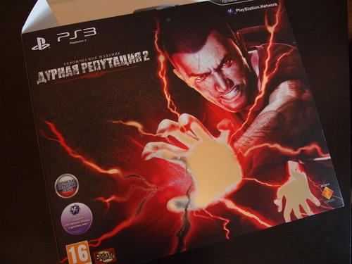 Распаковка Infamous 2 (Дурная Репутация 2) Hero Edition