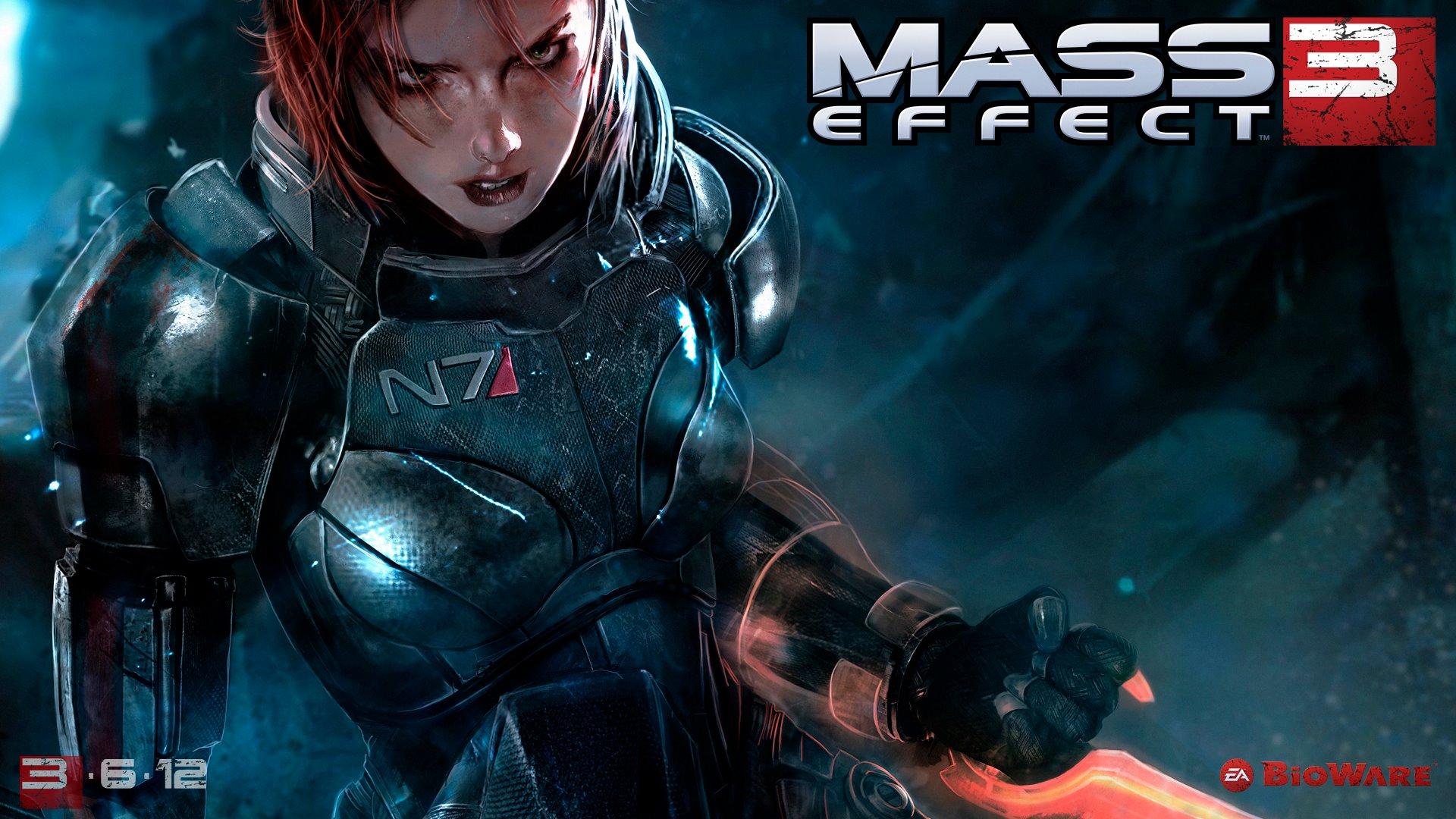 ME 3 Shepard female wallpaper