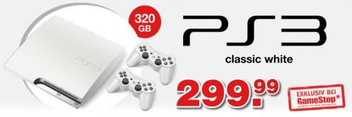 PS3 white