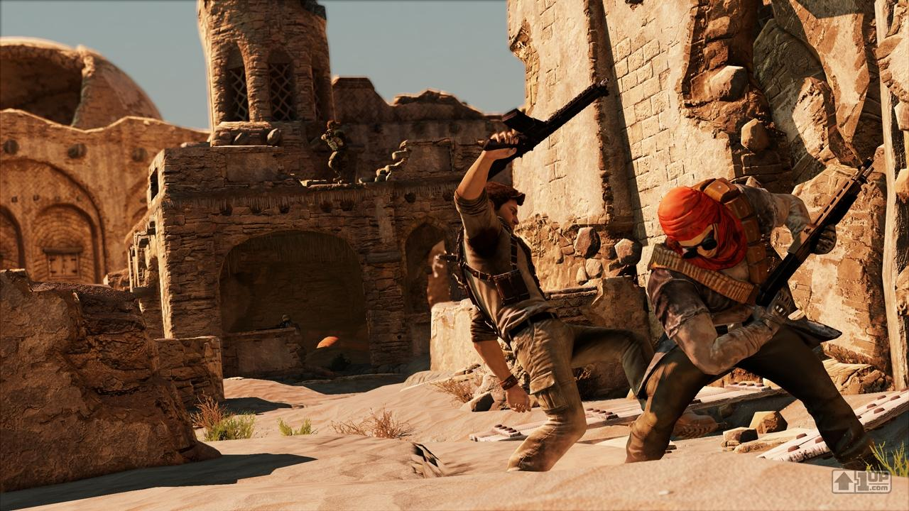 Uncharted 2 Among Thieves is a thirdperson actionadventure video game developed by Naughty Dog and published by Sony Computer Entertainment for the PlayStation 3