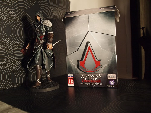 Распаковка Assassins Creed Revelations Collector Edition