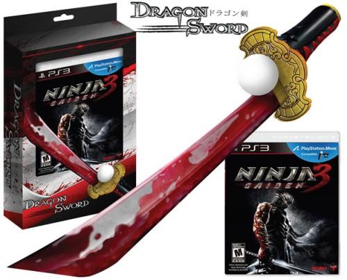 Ninja Gaiden 3 bundle with Dragon Sword Move