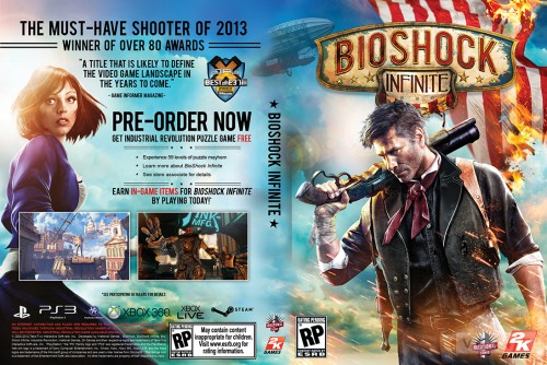 Bioshock Infinite cover