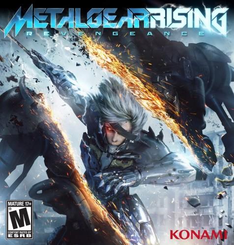 Metal Gear Rising Revengeance boxart
