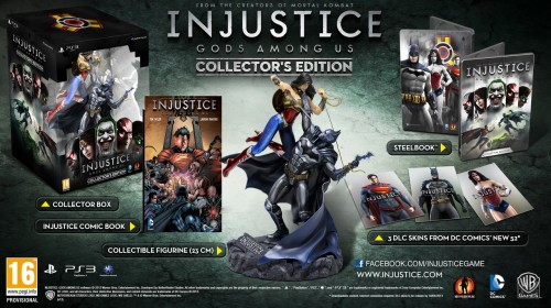 Injustice Gods Among Us euro collector edition