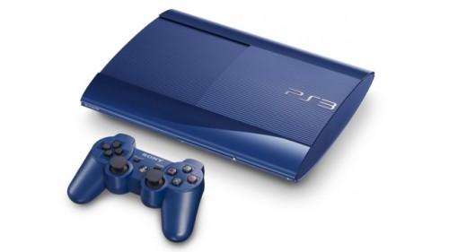 ps3 super slim blue