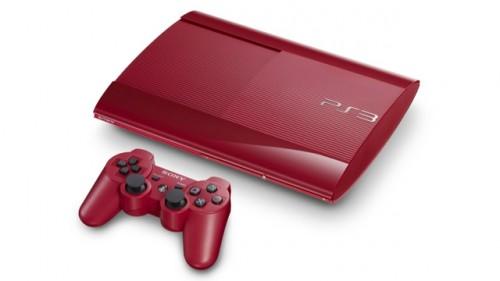 ps3 super slim red