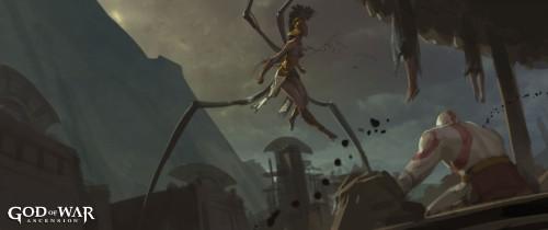 God of War- Ascension Concept Art 1