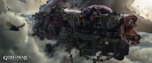 God of War- Ascension Concept Art 2