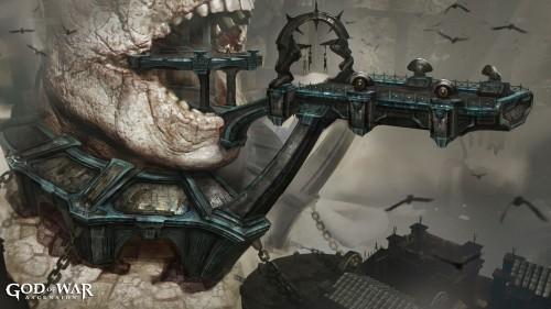 God of War- Ascension Concept Art 4