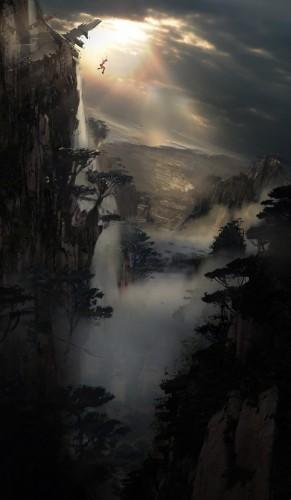 Tomb Raider Concept Art 1