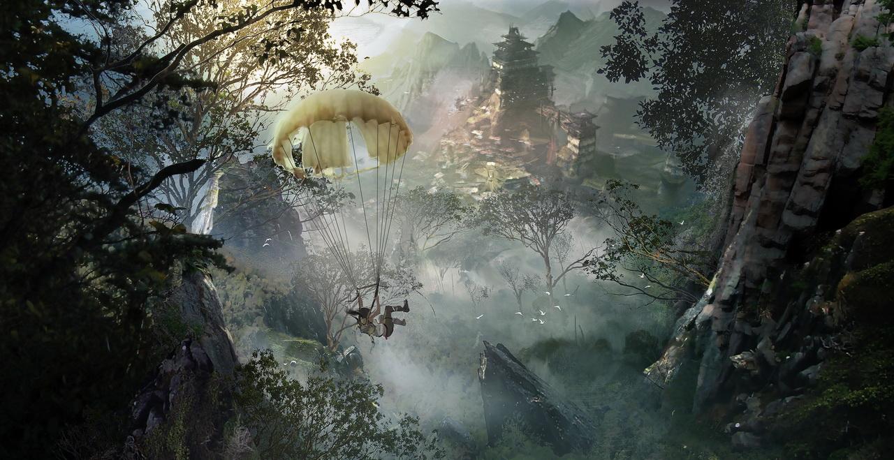 Tomb Raider Concept Art 2