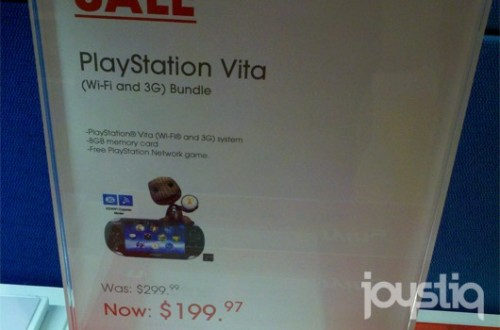 PS Vita 3G for $200