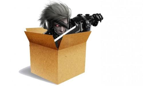 metal-gear-rising-revengeance cardboardbox