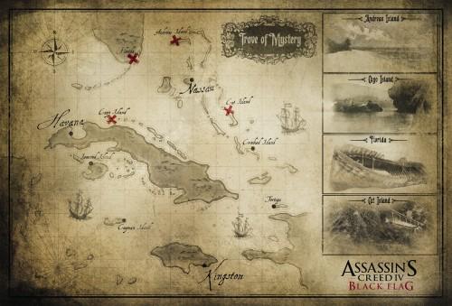 AC4 Black Flag Map