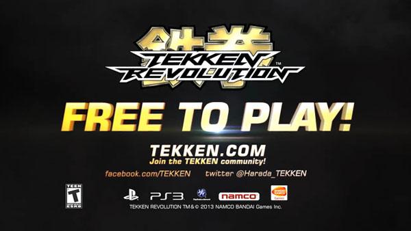 Free-to-play Tekken Revolution
