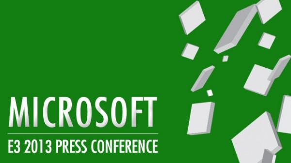 Microsoft E3 2013