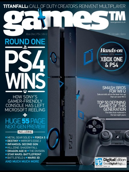 GamesTM ps4 cover