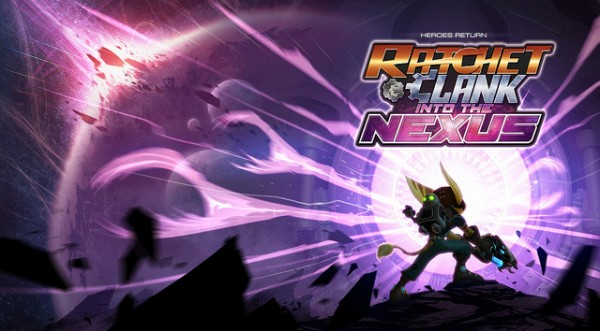 Ratchet and Clank- Into the Nexus logo