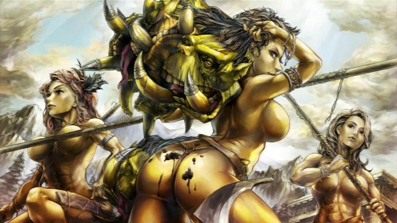 Orc sex cartoon art pics cartoon film
