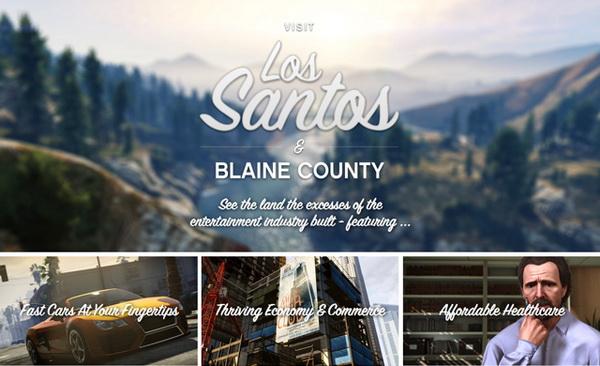 GTA 5 Los Santos and Blaine County