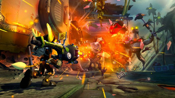 Ratchet and Clank Into the Nexus Screenshots