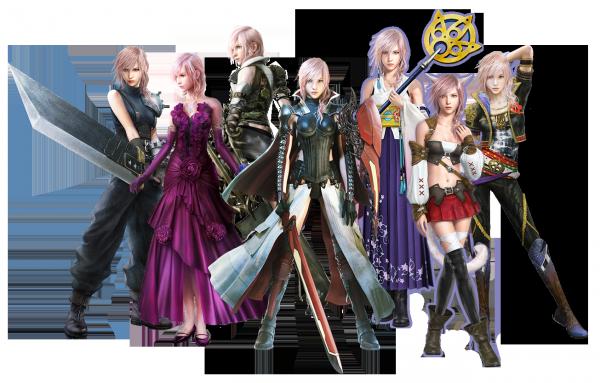 Lightning Returns Final Fantasy 13 all