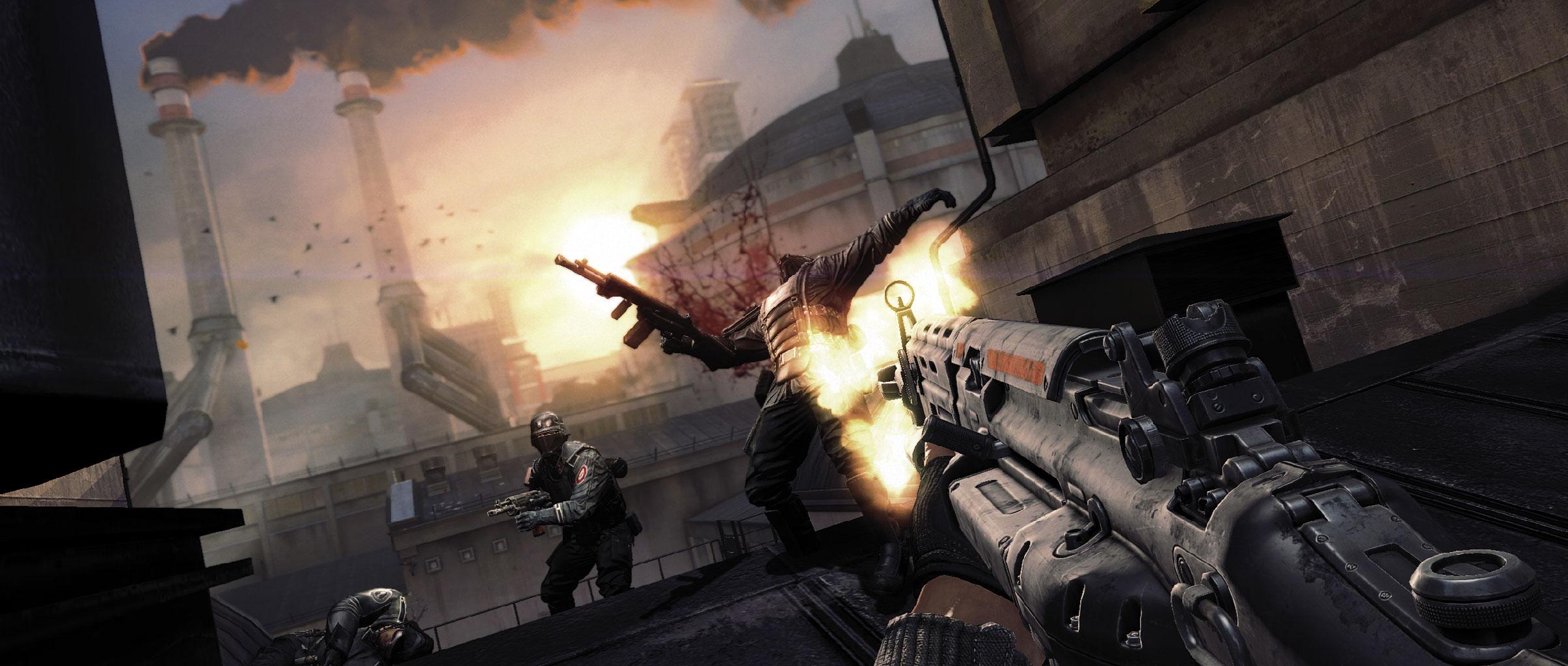 Wolfenstein-guard-attack