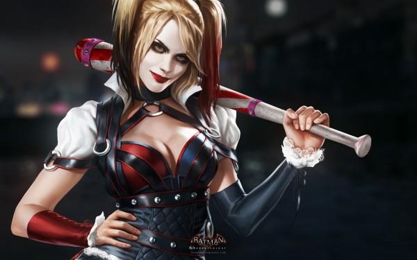 Batman Arkham Knight girl