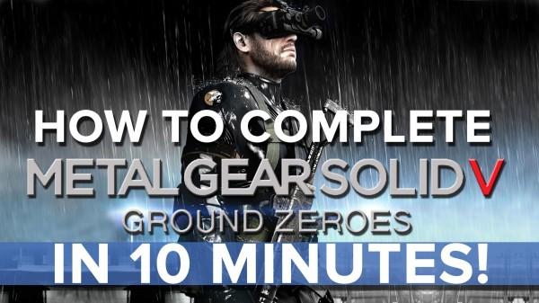 MGS Ground Zero 10 min