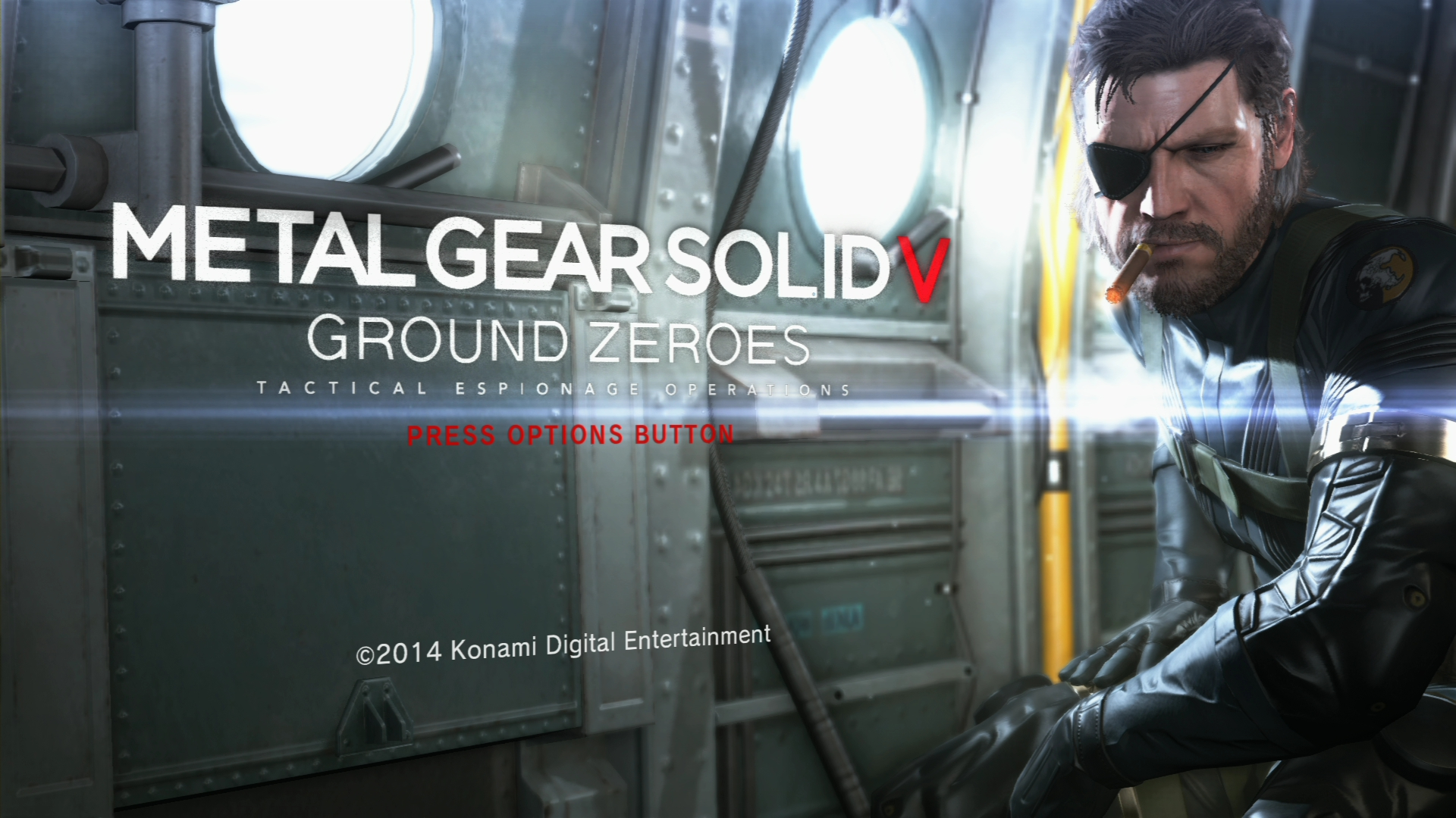 Metal Gear Solid V- Ground Zeroes PS4 Version Screens