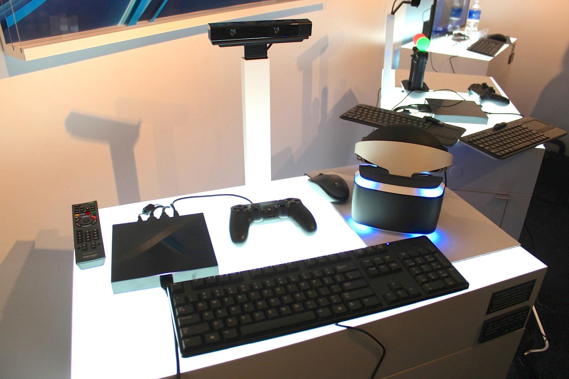 Project Morpheus setup