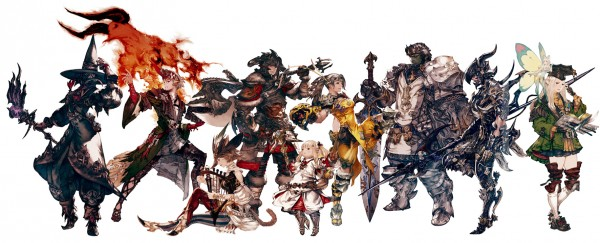 Final Fantasy XIV- A Realm Reborn PS4 Launch Trailer