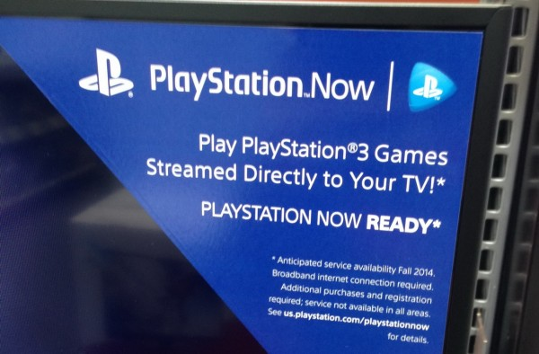 playstationnow on bravia TV