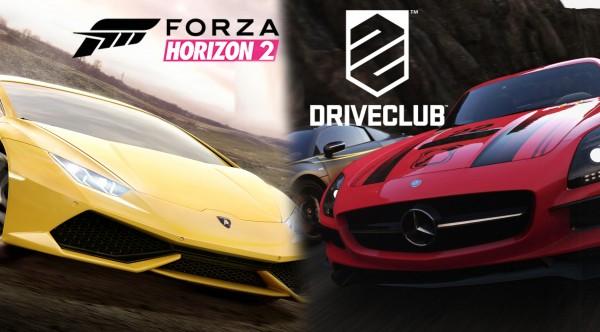 DriveclubForzaHorizon2