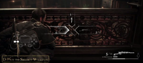 The Order 1886 Controls Gameplay (PS4)
