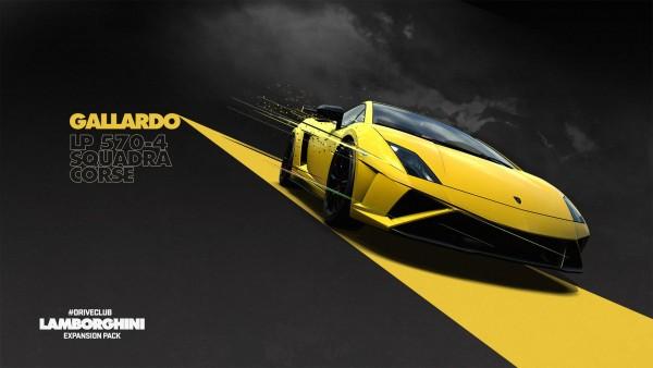 driveclub Lamborghini Gallardo Squadra Corse